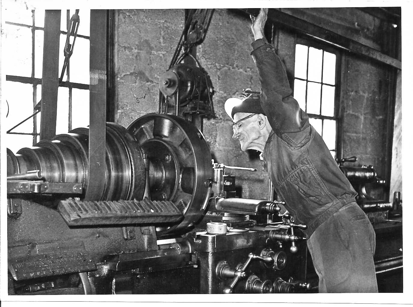 The Machine Shop of Yesteryear | Is this load bearing?