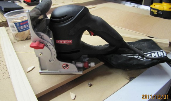 woodworking biscuit cutter